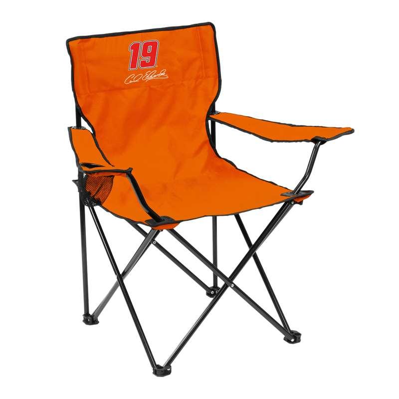 Logo Chairs Carl Edwards Quad Chair Adult Folding Chair