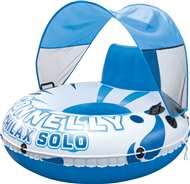 New!  Chilax Solo w/ Canopy Connelly  Lounge Inflatable Raft Float