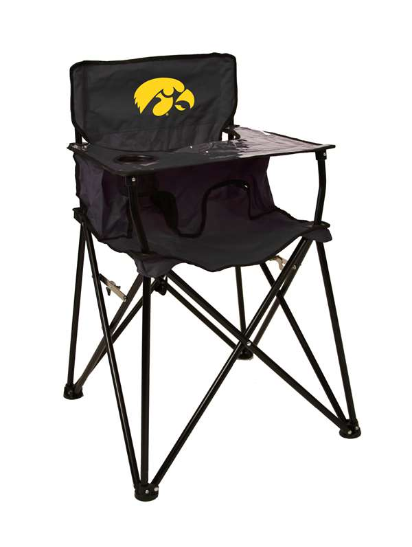 Marvelous University Of Iowa Hawkeyes High Chair Tailgate Camping Beatyapartments Chair Design Images Beatyapartmentscom