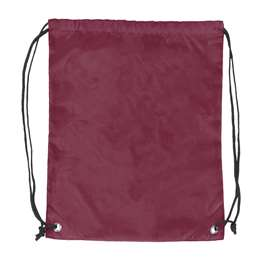 Plain Maroon  DoubleHeader Backsack String Bag