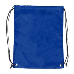 Plain Royal Blue DoubleHeader Backsack String Bag